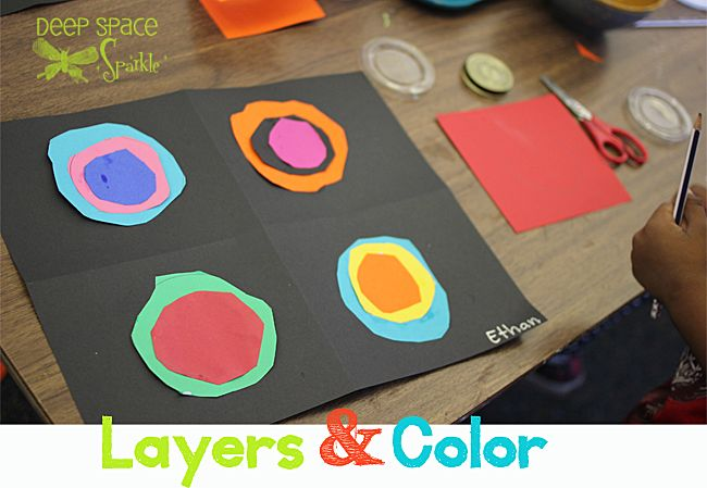 Layers & Color-Kandinsky-art-project