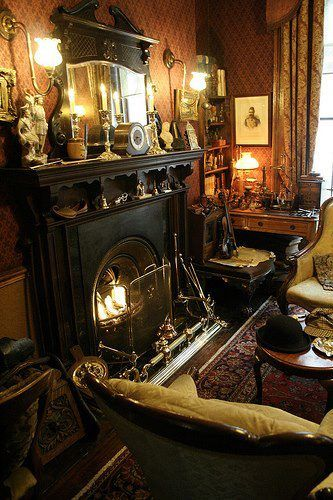 "In the Sherlock Holmes Museum   221b, Baker Street - London... ""If my heart was a house you'd be home."""