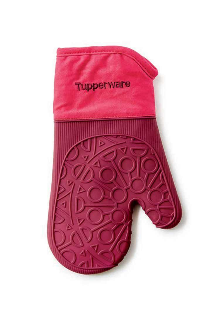 Heat resistant oven gloves - Tupperware