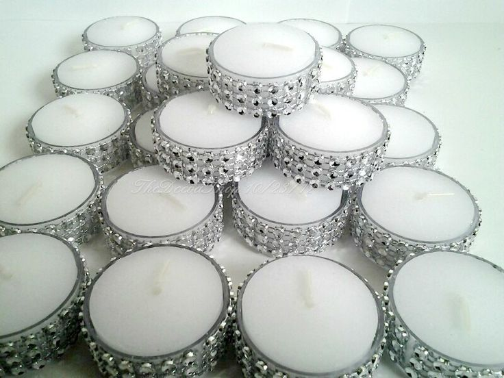 Tealight  Fresh Linen Scent or Vanilla Bling by TheDeevaShop, $18.95