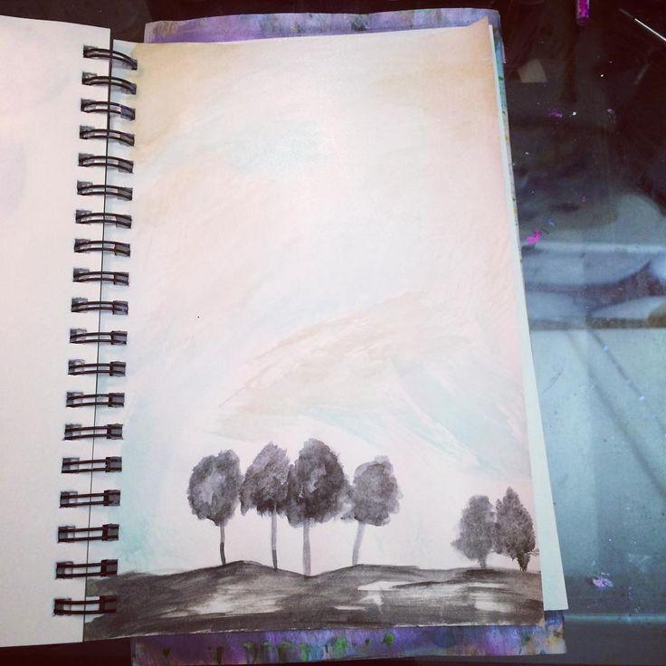 #drawing #watercolor #artist #ink #art #loveit #simple
