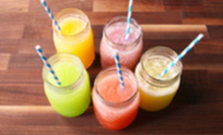 Skittles Slushies: These Skittles-infused vodka slushies will seriously bring the fun this summer - taste the boozy rainbow