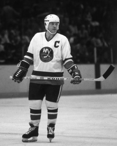Denis Potvin | New York Islanders | NHL | Hockey.  Met him when he was in Florida Panthers arena signing autographs.