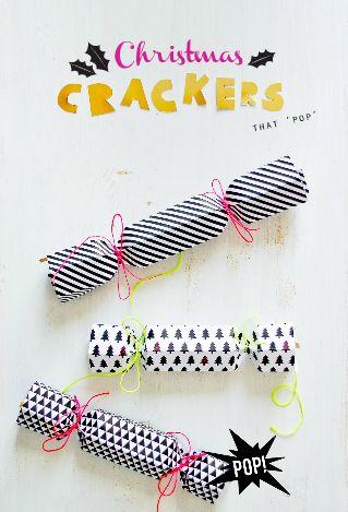 Idée décor crackers Noël