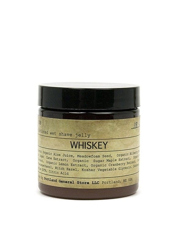Bought this Whiskey infused shaving jelly for Eric. Ironic that a man who does not drink loves the smell of Whiskey and Scotch.