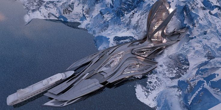 Antarctic research facility that looks like something out of a sci-fi movie could soon be accepting eco-tourists. Find out more here!