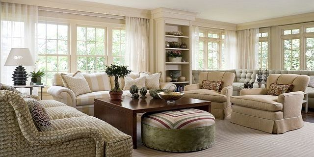 Neutral small living room