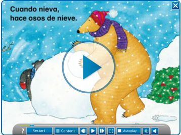 Bear in Sunshine - OSO BAJA EL SOL is our first ever Spanish language animated…