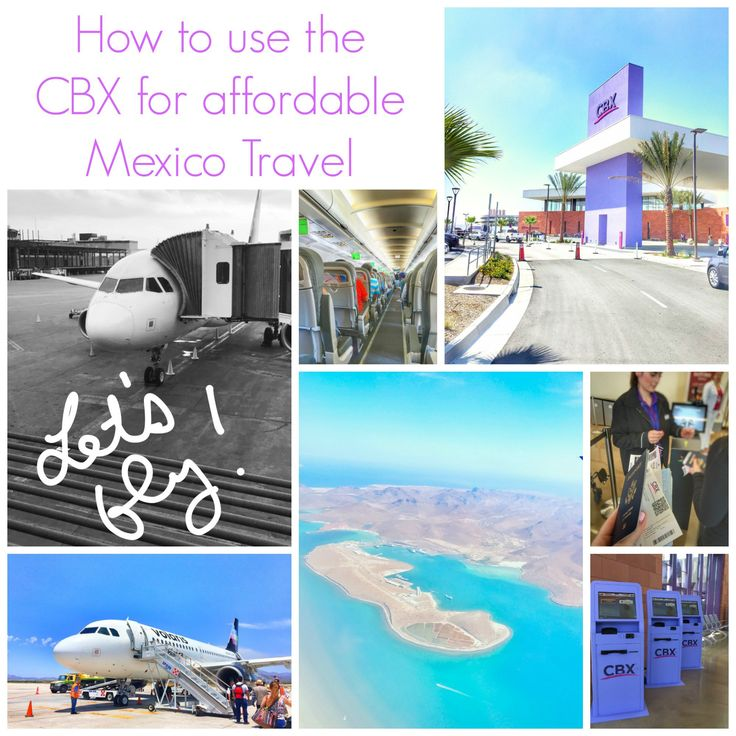 The Cross Border Xpress (CBX) allows families to easily fly out of Tijuana to beautiful Mexico destinations at 75% less than US airports