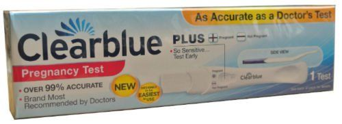 Clearblue+Plus+Pregnancy+Urine+Test+Kit+Home+Testing+Sticks+-Results+in+1+Minute++++HC