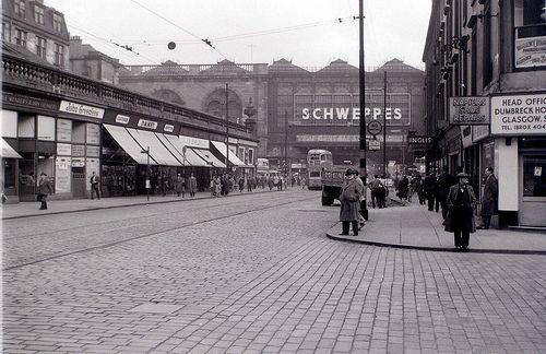 Argyle Street, Glasgow, 19 April 1960 by allhails, via Flickr