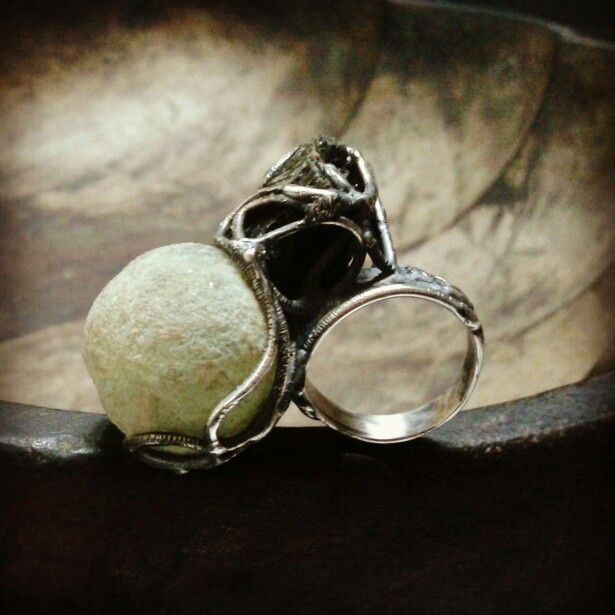 Black silver 925 made in italy daidalos roma .. ring