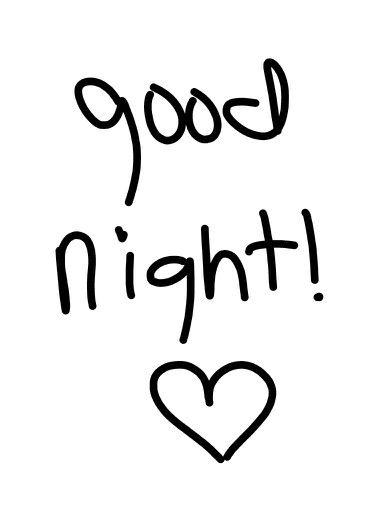a dormir... y buenas noches  www.fiestastempranito.com