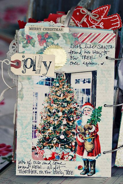 Christmas mini album....which reminds me I have to get on the ball and start on mine soon!