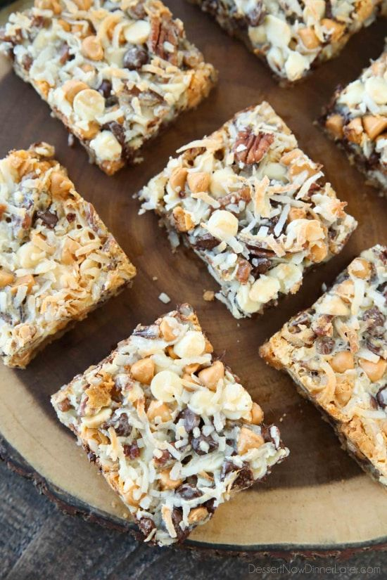Seven Layer Bars Magic Cookie Kitchen Sink Wver You Call Them This Clic Dessert Is Easy And Delicious A Graham Er Crust