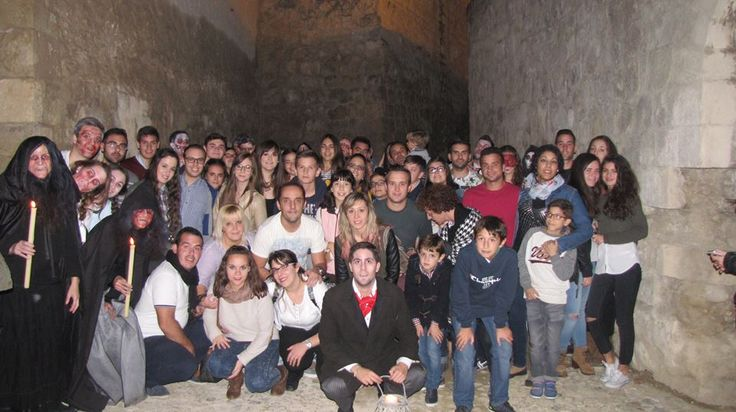 Ya están aquí las fotos del Castillo del Terror de Lucena...