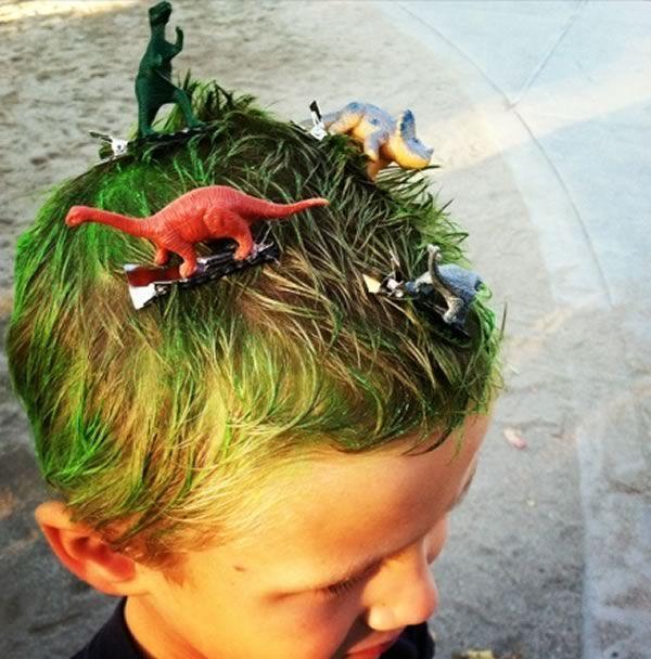 Ideas peinados locos niños