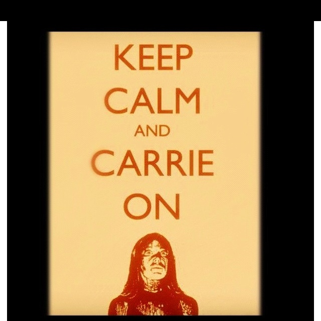 So excited for the new Carrie movie coming out!
