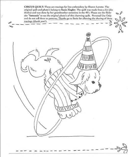 83 Best Circus Embroidery Patterns Images On Pinterest