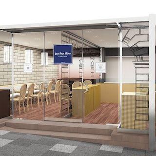 ジャンポールエヴァン 表参道ヒルズ店がイートインスペースを併設してリモデルオープン