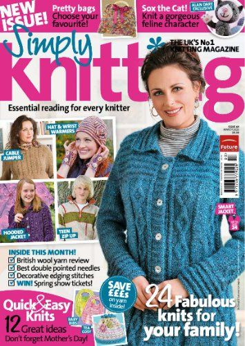Simply Knitting   Cheap magazine subscriptions - Magazine Subscriptions