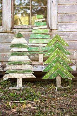 Pallet trees!