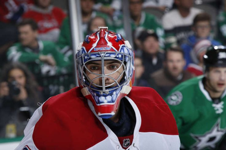 DALLAS, TX - JANUARY 4: Al Montoya #35 of the Montreal Canadiens tends goal against the Dallas Stars at the American Airlines Center on January 4, 2017 in Dallas, Texas. (Photo by Glenn James/NHLI via Getty Images)