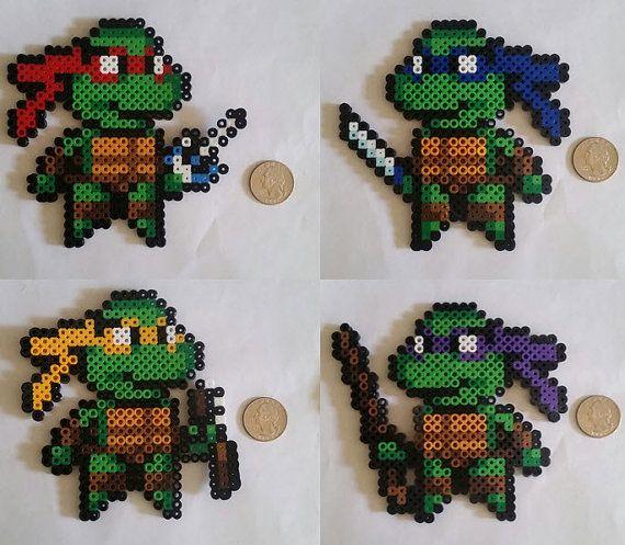 Ninja Turtle Perler kralen