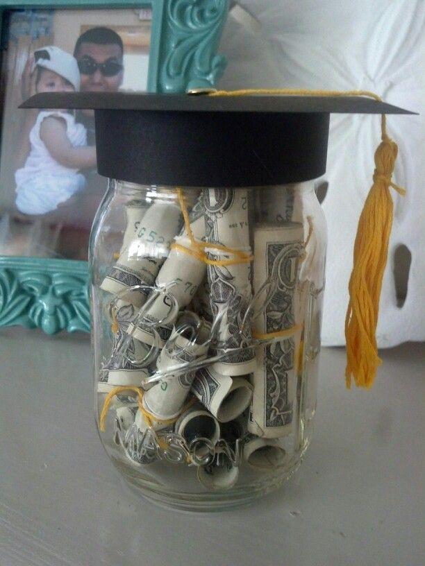 how to make graduation caps for mason jars