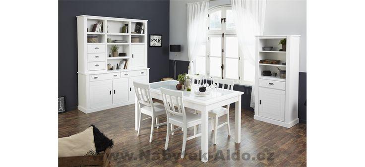 Rustikální nábytek do jídelny Victoria 0666-I