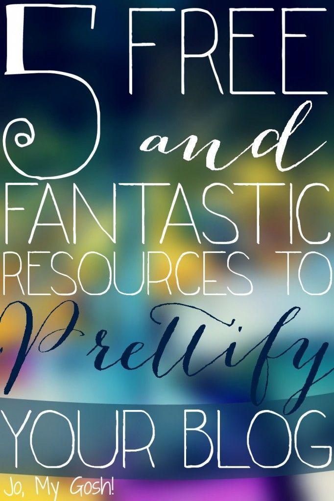 5 Free u0026 Fantastic Resources to Prettify