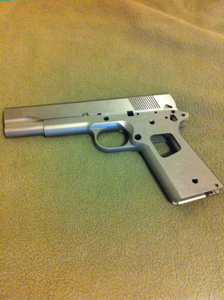 Project 1911: Building a 1911 From Start to Finish