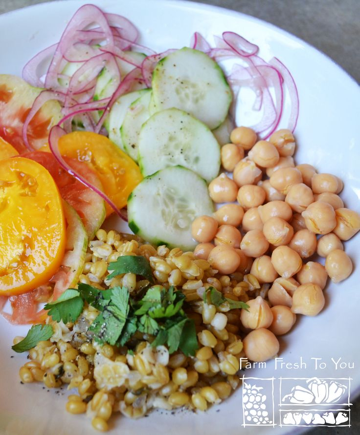 1000 Images About Salads On Pinterest Wheat Berry Salad