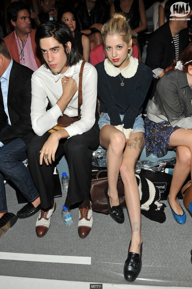 // peaches geldof and thomas cohen