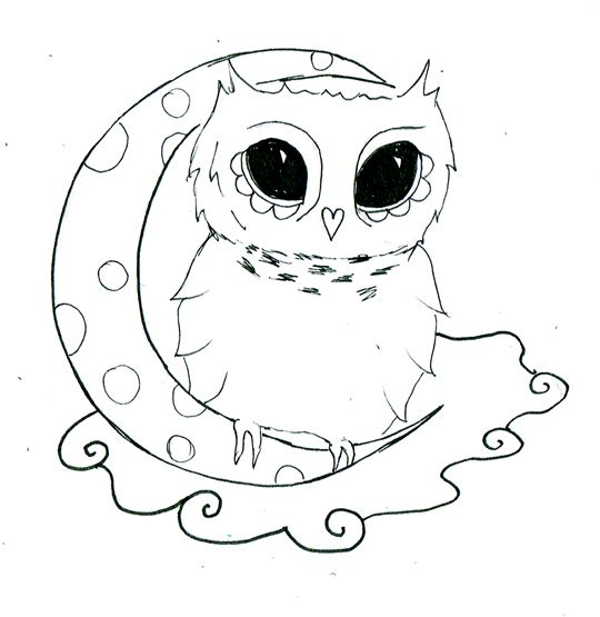17 best ideas about simple owl drawing on pinterest owl