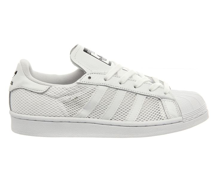 adidas superstar mesh trainers