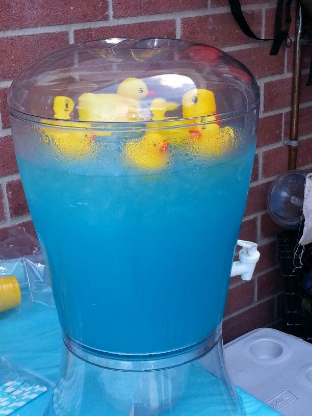 Ducky Baby Shower Punch Part - 30: Rubber Ducky Blue Punch · Blue PunchBaby ShowersShower Ideas