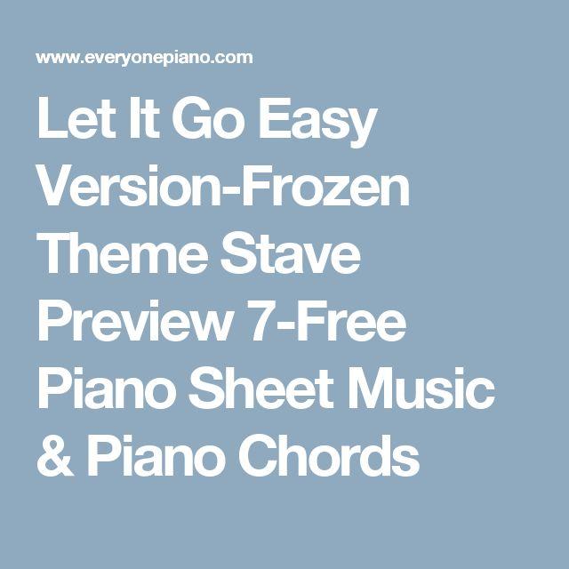 1000+ ideas about Let It Go Chords on Pinterest | Ukulele Chords ...