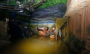 York to reopen Vikings of Jorvik attraction 16 months after floods UK's first 'experience' attraction, where visitors are carried along tracks through recreated streets, is being restored
