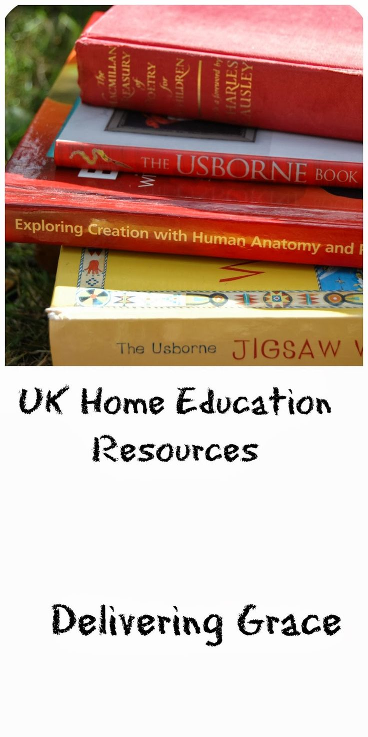 delivering grace: UK Home Education Resources- Updated