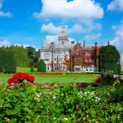 A list of the most romantic places in Europe for honeymoons.  Adare Manor in Ireland is one of the amazing destinations.