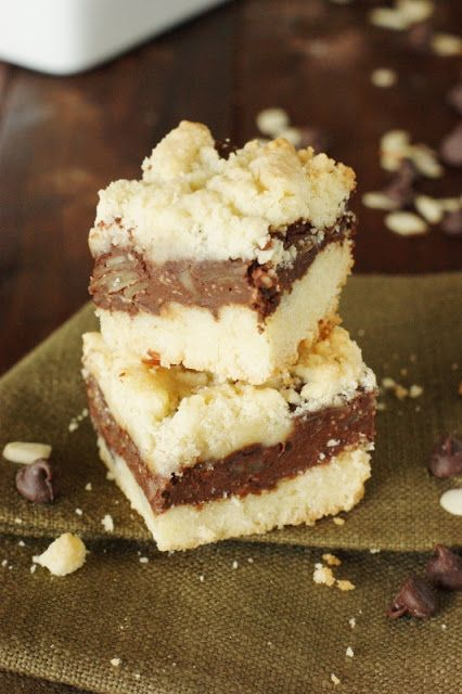 Fudgy Chocolate Layer Bars ~ so good, no matter how often you make them it won't be often enough! www.thekitchenismyplayground.com