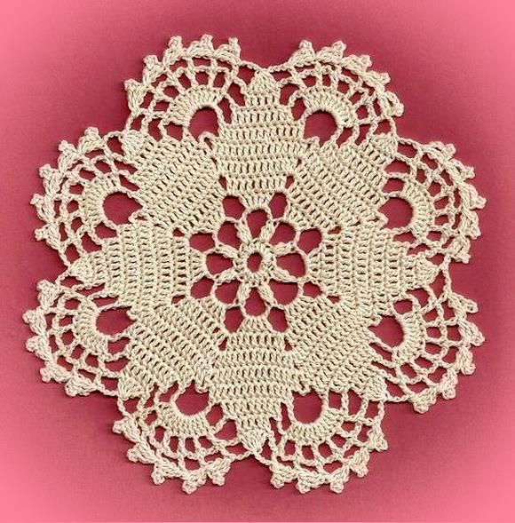 Crochet Coaster Free Pattern - Gorgeous