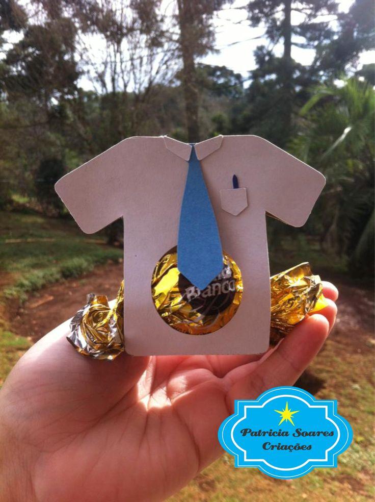 Patricia Soares Criações: Porta Bombom Camisa