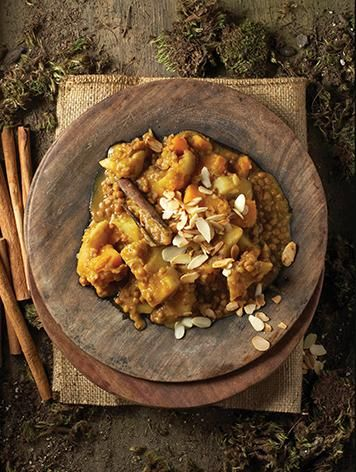 Butternut & lentil curry  #rooirose