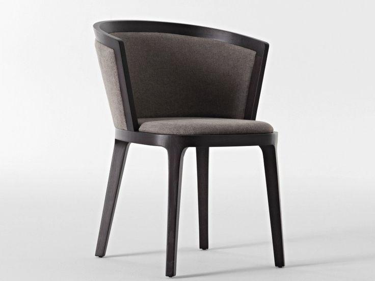 Upholstered fabric chair ADRIA Italia Collection by Casa | design Mauro Lipparini