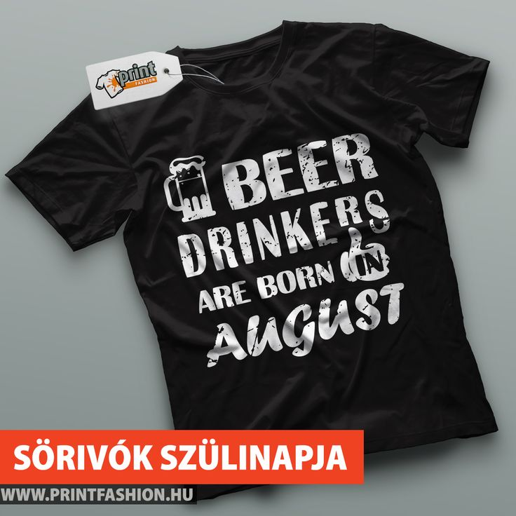 🍺 A SÖRIVÓK AUGUSZTUSBAN SZÜLETNEK! 🍺 Egyedi szülinapos póló a sörkedvelőknek! 🍻🙂 WEBSHOP: 👉https://printfashion.hu/mintak/reszletek/a-sorivok-augusztusban-szuletnek/ferfi-polo/