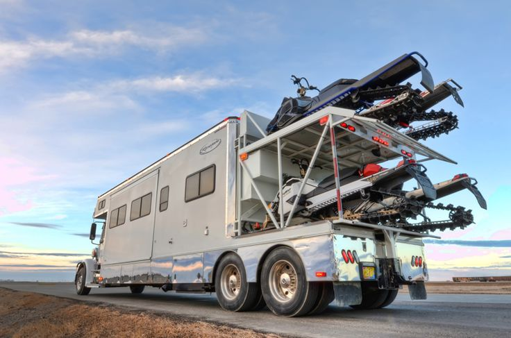 Dream Snowmobile Trailer http://www.route3amotorsports.com/index.htm…