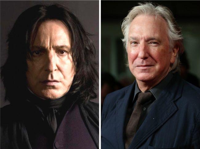 Что с ними стало? Все актеры «Гарри Поттера» 14 лет спустя Северус Снейп — Алан Рикман