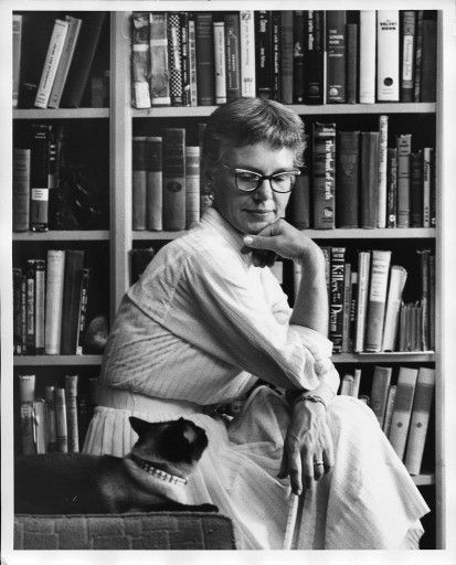 Helga Sandburg (Childrens author and poet) She was the daughter of Carl Sandburg and her uncle was photographer Ed Steichen.